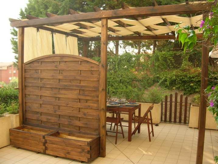 Portici e pensiline in legno ciprari legnami for Casette con portici