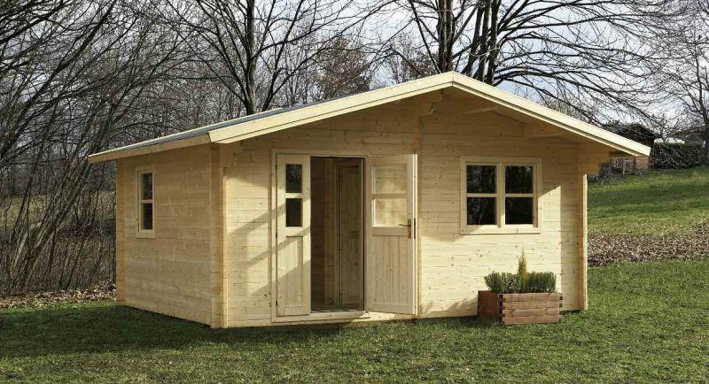 Casette in legno da giardino ciprari legnami for Arredi da giardino in legno