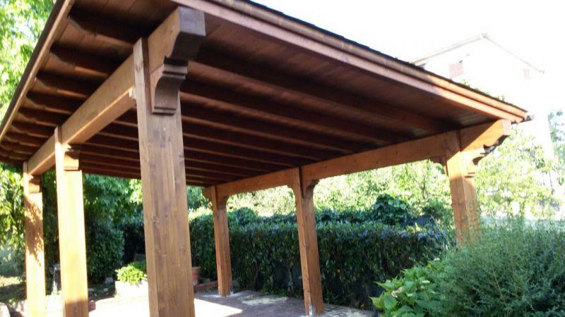 Tettoie in legno ciprari legnami - Tettoie in legno ...